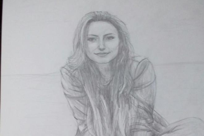 Портрет по фотографии 1 - kwork.ru