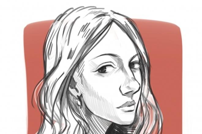 Портреты, разработка 2D персонажейИллюстрации и рисунки<br>Привет! Нарисую любую иллюстрацию, и учту все ваши предпочтения, смогу легко подстроиться под стиль, который вам нравится. Готова работать)<br>