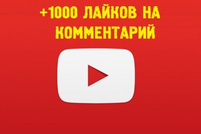 YouTube-продвижение. Мне понравился комментарийПродвижение в социальных сетях<br>YouTube-продвижение Мне понравился комментарий. Услуга: 1000 лайков на интересующий Вас комментарий. Время работы: до 3-4 дней.<br>