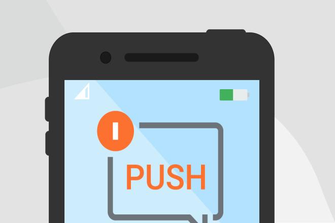 Подключу Push уведомления на Android приложение 1 - kwork.ru