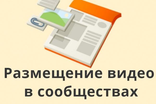 Размещу вручную Ваше видео в 100 сообществах Google+ 1 - kwork.ru