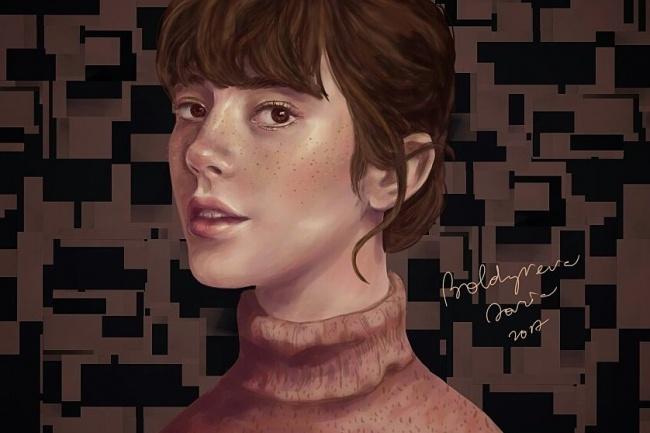 Нарисую портрет в Photoshop Illustrator 1 - kwork.ru