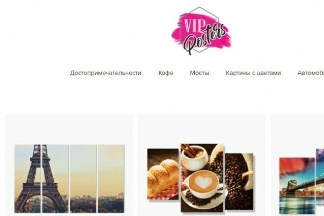 Создам сеть из трех интернет-магазинов 1 - kwork.ru