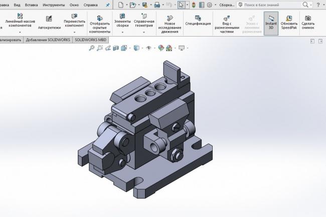 Создаю 3d модели в программном продукте Solidworks 1 - kwork.ru