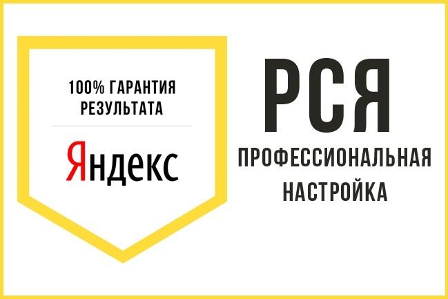 Создам рекламную кампанию в РСЯ 1 - kwork.ru