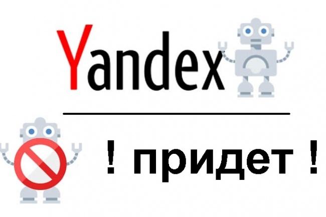 Яндекс-бот - приведу по 50-ти ссылкам 1 - kwork.ru