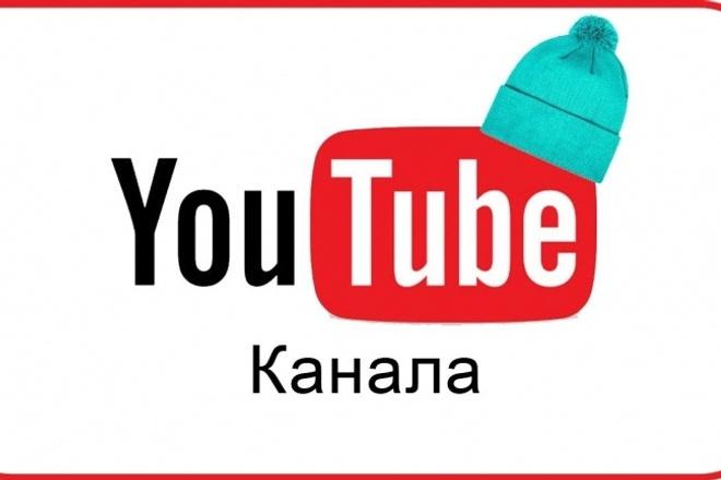 Сделаю шапку для ютуб канала. Быстро и качественно 1 - kwork.ru
