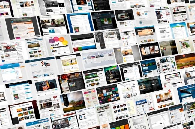 Дизайн 1 экрана сайта от профессионального веб-дизайнера 1 - kwork.ru