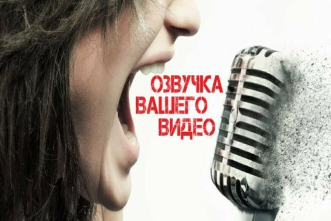 Красиво и сочно озвучу видеоролик и начитаю текст 1 - kwork.ru