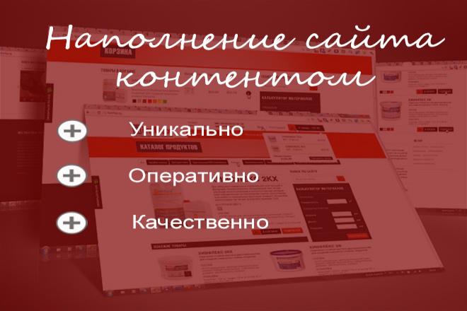 Написание статей , наполнение сайта контентом 1 - kwork.ru