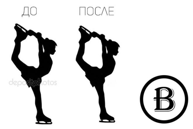 Удаление водяных знаков с 10 фотографий 1 - kwork.ru