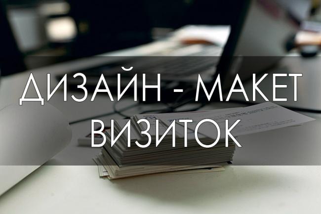 ВизиткиВизитки<br>Создам дизайн визитки любой тематики, для вас и вашей деятельности, с учетом ваших пожеланий или без.<br>
