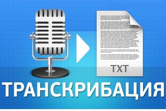 Смогу за 500 рублей перевести аудиозапись в текст 1 - kwork.ru