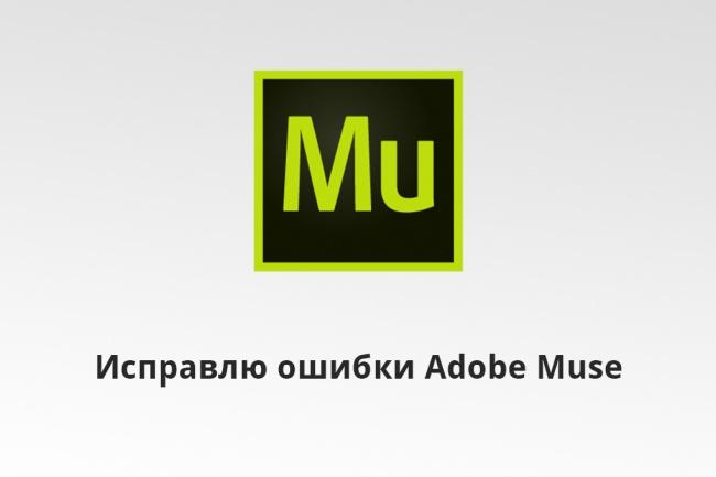 Исправлю ошибки и баги в вашем Adobe Muse сайте 1 - kwork.ru