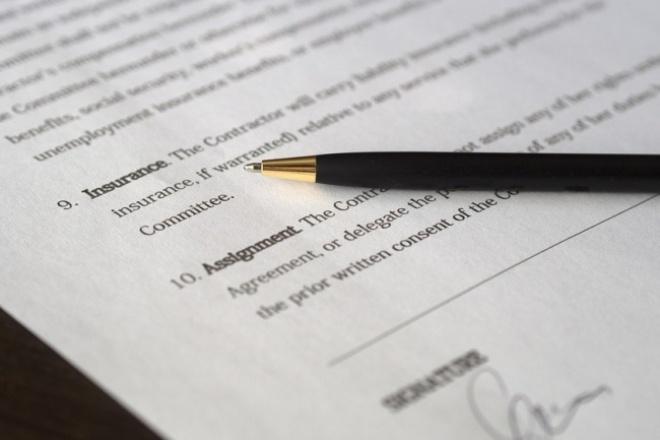 Юридическая консультация по Вашему договору 1 - kwork.ru
