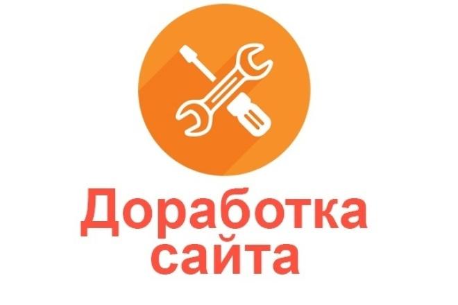 Разработка и правки на сайте - php, javascript, html, css, WordPress 1 - kwork.ru