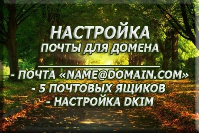 Подключить домен к почте яндекс или mail. ru 1 - kwork.ru