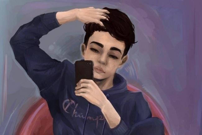Нарисую Digital рисунок 1 - kwork.ru