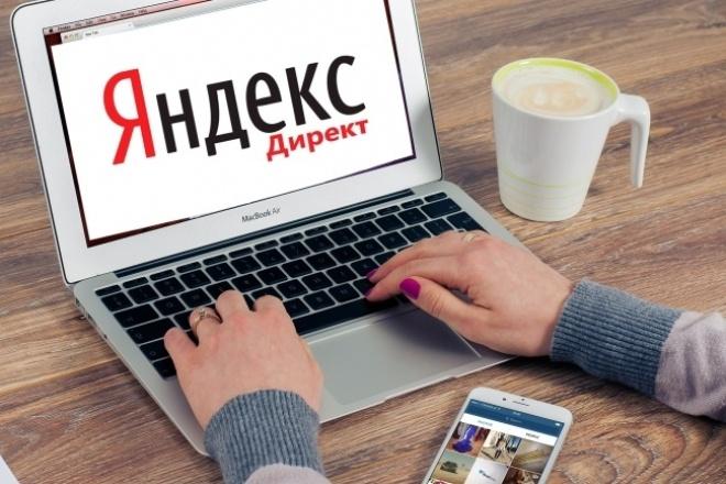 Настрою контекстную рекламу в Яндекс Директ - 100 объявлений 1 - kwork.ru