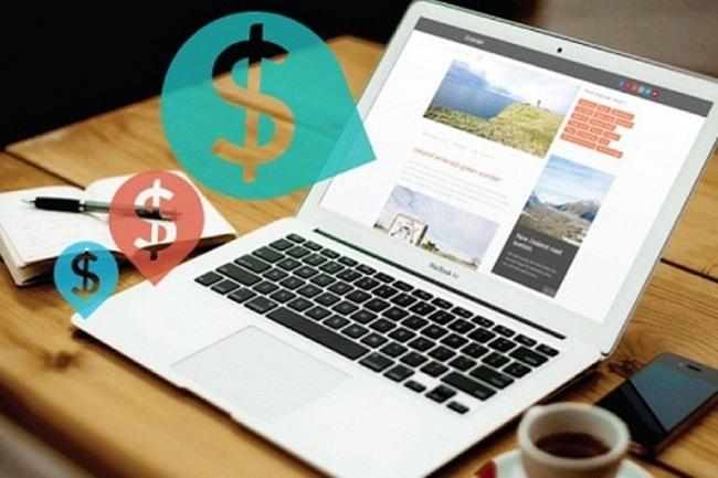 Готовый сайт для заработка 6 - kwork.ru
