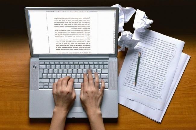 Перепечатка текста с PDF-скана, фотографий, рукописиНабор текста<br>Перепечатываю тексты с PDF-скана, фотографий, рукописи. Выполняю без грамматических и пунктуационных ошибок. Быстрая скорость печатания, грамотное оформление работы. Работы отсылаю в разном формате, уточняйте при заказе. Ожидаю!<br>