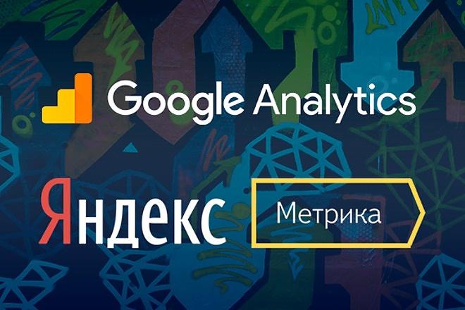 Подключу Google Analytic и Яндекс Метрику 1 - kwork.ru