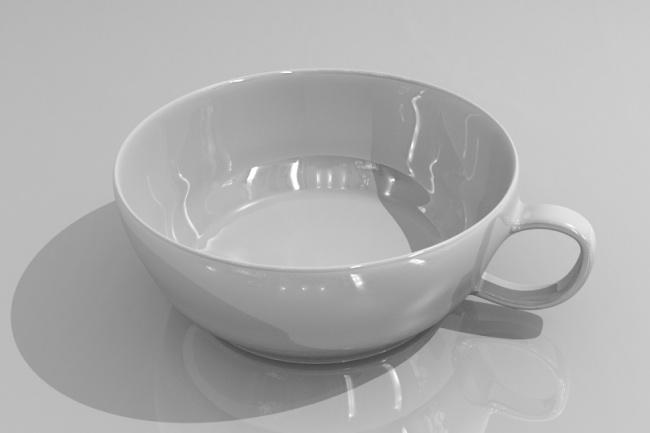Создам 3d чашки и кружки 1 - kwork.ru