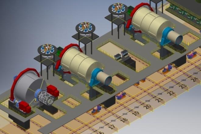 Оцифровка и выполнение чертежей. Разработка 3D-моделейИнжиниринг<br>Оцифрую или выполню чертёж в Autodesk AutoCAD. Разработаю 3D-модель оборудования или какого-либо объекта в целом в Autodesk Inventor.<br>