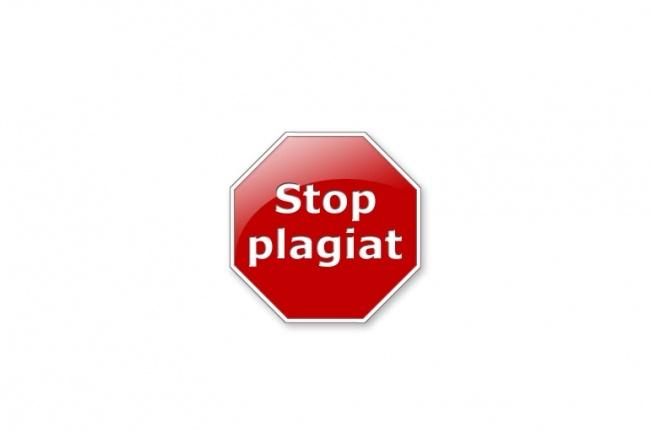 Проверка на плагиат 12 - kwork.ru