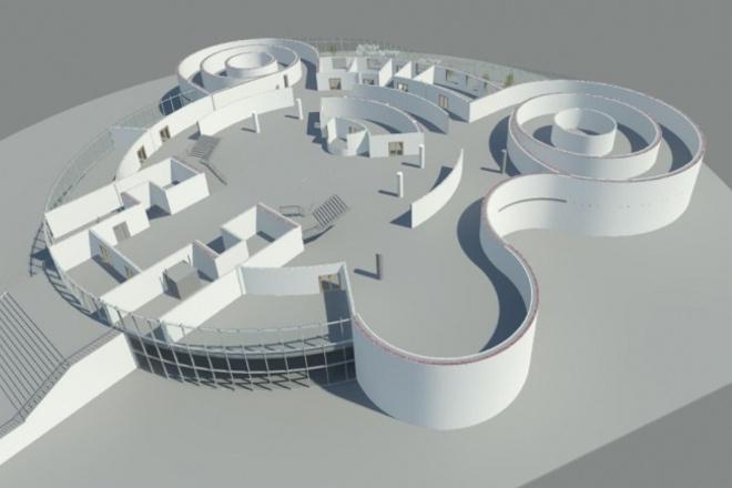 Создам 3D модель и сделаю визуализацию 1 - kwork.ru