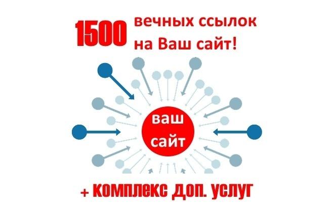 Размещение 1500 вечных ссылок с ИКС от 10. Прирост ИКС до +20 1 - kwork.ru