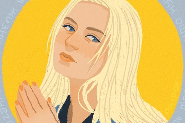 Нарисую digital портрет 1 - kwork.ru