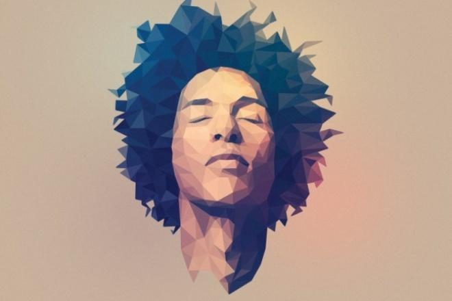 Сделаю портрет в данном стиле 1 - kwork.ru