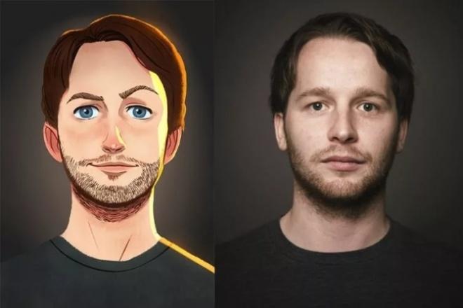 Напишу портрет по фотоИллюстрации и рисунки<br>Качественно и в короткие сроки нарисую портрет по фотографии. Постараюсь сделать оригинально, всё для того чтобы Вам понравилось.<br>