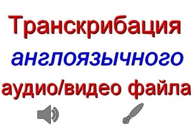 Перевод англоязычных аудио- или видео- материалов в текст 1 - kwork.ru