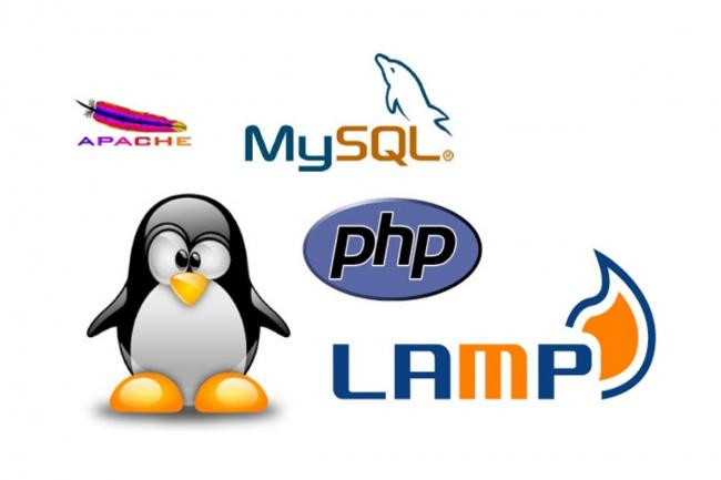Базовая установка и настройка веб-сервера Nginx, Apache, PHP, MySQLАдминистрирование и настройка<br>Базовая установка и настройка веб-сервера на базе CentOS 6/7: Nginx (frontend) Apache (backend) PHP 5/6/7 (одна из трех на выбор) MySQL 5.5.x + phpMyAdmin<br>
