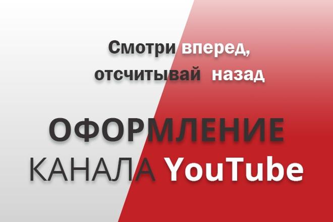 Оформление канала YouTubeДизайн групп в соцсетях<br>Оформленный канал YouTube, только за счет презентабельного внешнего вида увеличит количество подписчиков. Люди охотнее подписываются на канал, у которого имеется свой фирменный стиль, он внешне им нравится, его дизайн смотрится гармонично. За 1 кворк вы получаете: 1. Шапку (обложку). 2. До пяти правок (по существу).<br>