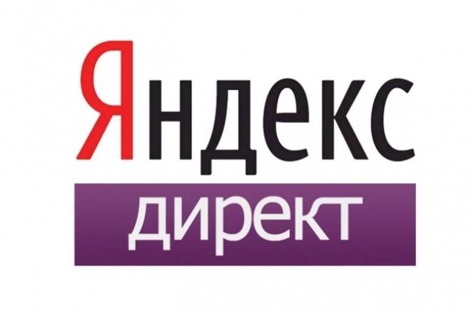 Настройка контекстной рекламы Яндекс. Директ 1 - kwork.ru