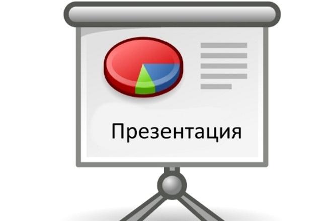 Создам презентациюПрезентации и инфографика<br>Сделаю для вас презентацию. Бизнес, учёба, выступления. В один кворк входит создание Простой презентации. А также можете посмотреть прикрепленные файлы. Профессионально сделаю одну Презентацию в MS PowerPoint. В конце работы получите готовую презентцию в формате: PPT или PDF. Возможен копирайтинг.<br>