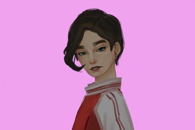 Нарисую вашего персонажа 1 - kwork.ru