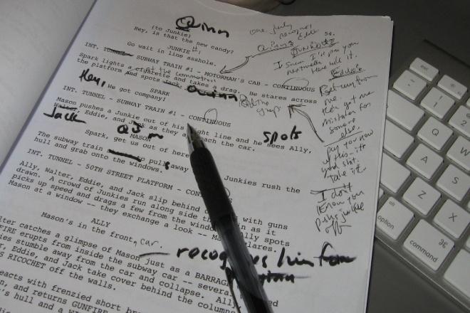 Напишу сценарий для вашего шедевра 1 - kwork.ru