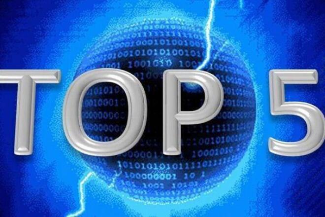 Вывод сайта в топ 5Внутренняя оптимизация<br>1-Вывожу сайты в ТОП-5 по ключевым фразам 2-это может длиться 30 дней зависимости тематики сайта 3-искательные системы выбирайте сами<br>