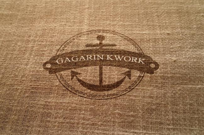 Логотип на тканиЛоготипы<br>Сделаю ваш логотип на ткани (как на примере). Быстро и с учетом ваших пожеланий. Предоставляю два варианта на ваш выбор.<br>