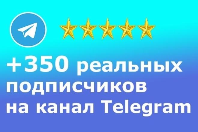 +350 Реальных подписчиков на канал в TelegramПродвижение в социальных сетях<br>Представляю новую услугу +350 Реальных подписчиков на канал в Telegram. Благодаря мне , ваш канал станет более посещаем , возрастет количество просмотров и конечно же увеличится количество подписчиков. Создам видимый прирост аудитории. Преимущества, почему стоит заказать у нас: • Самая низкая цена на рынке. • Быстрое получение результата. • Высокое качество. • Большое число подписчиков за короткое время. У Вас есть аккаунт Telegram, но Вы не популярны ? Я это исправлю! Весь процесс делается живыми людьми. Так как процесс выполняется живыми людьми процент отписок может доходить до 10-30 % в зависимости от вашего контента на канале. Выполнение заказа от 3 до 5 суток. Можно и быстрее , но и цена выше.<br>