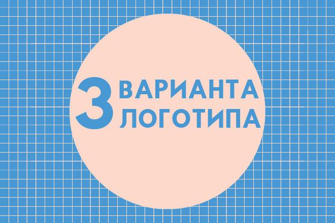 3 варианта логотипа 1 - kwork.ru