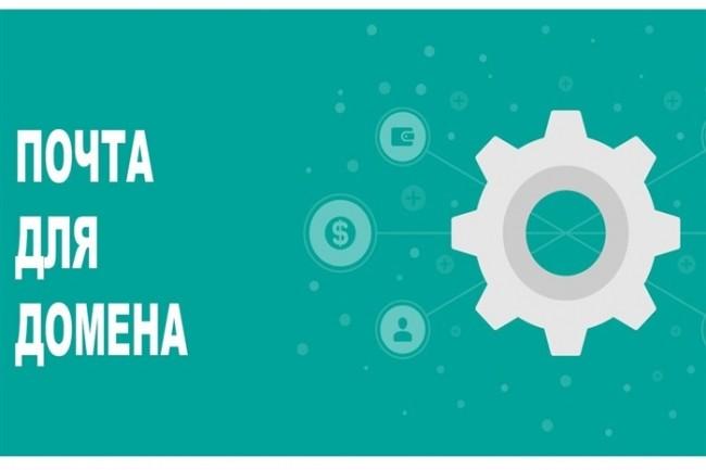 Настрою почту для домена 1 - kwork.ru