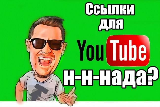 Вечные ссылки с сайтов для SEO YouTube канала или видео 1 - kwork.ru