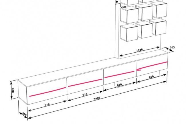 Сделаю рабочий эскиз мебелиМебель и дизайн интерьера<br>Сделаю рабочие эскизы с проставленными ключевыми размерами по картинке или наброску. От вас картинка и описание того , что должно получиться.<br>