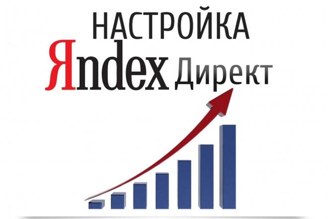 Акция-Настройка поисковой кампании Яндекс.Директ + 7 дней поддержки 1 - kwork.ru