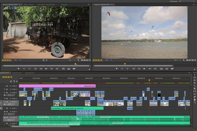 Делаю монтаж видео в Adobe Premier и After Effects 1 - kwork.ru